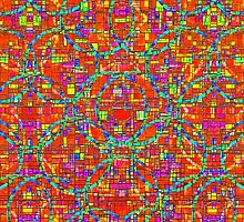 Verre Colore Pattern by PETER GROSS