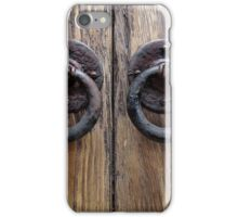 Door Knockers  iPhone Case/Skin