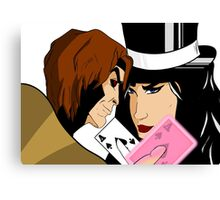 """My Card"" Canvas Print"