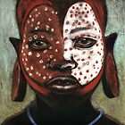 Surma boy with red spots by Neil Elliott