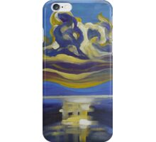 Abstract sunset 30 iPhone Case/Skin