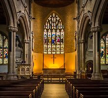 St Lawrence Hungerford by mlphoto