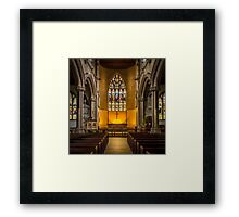 St Lawrence Hungerford Framed Print