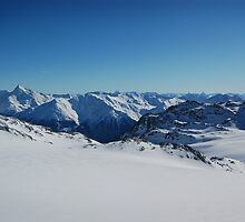 French Alps 6 by Sarah Verrall