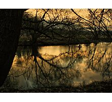 Dusk Waterside Photographic Print