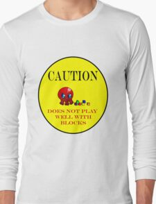 Tako-Chan Does Not Play Well.. Long Sleeve T-Shirt