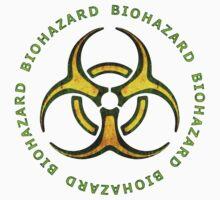 Biohazard Zombie Warning Baby Tee