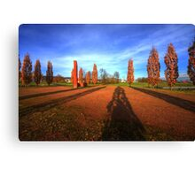 rusty autumn HDR Canvas Print