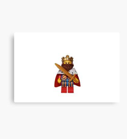 LEGO King Canvas Print