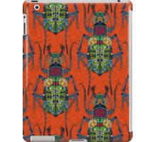 flower beetle orange iPad Case/Skin