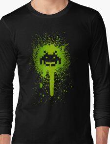 Space Blotch (Green ver.) Long Sleeve T-Shirt