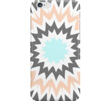 Baby Blue to Peach iPhone Case/Skin