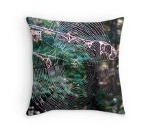 Fine Art in the Deep Woods Throw Pillow