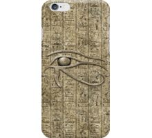 Eye Of Ra iPhone Case/Skin