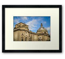 Cardiff City Hall Framed Print