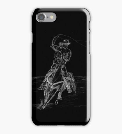 Cowboy Roping iPhone Case/Skin