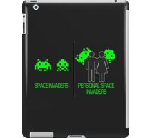 Personal Space Invaders (BG) iPad Case/Skin