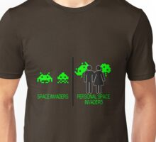 Personal Space Invaders (BG) Unisex T-Shirt