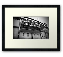 Wrigley Field 05 Framed Print