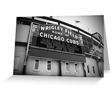 Wrigley Field 05 Greeting Card