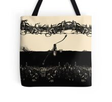 A Tale of Infinite Cities (Landscape) Tote Bag
