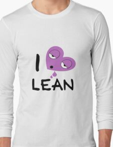 I love lean Long Sleeve T-Shirt