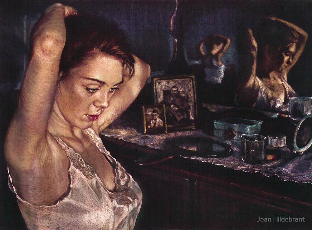 Reflections of Sasha by Jean Hildebrant
