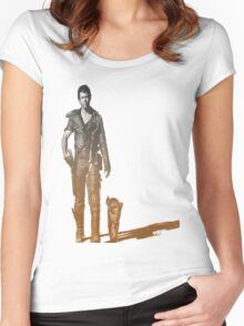 Mad Max Road warrior Women's Fitted Scoop T-Shirt