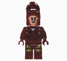 LEGO Iron Man (Mask Open) Kids Clothes