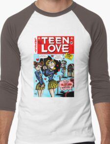 Teen Love Men's Baseball ¾ T-Shirt