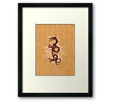 Oriental Dragon Framed Print