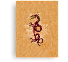 Oriental Dragon Canvas Print
