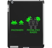 Personal Space Invaders (GG) iPad Case/Skin