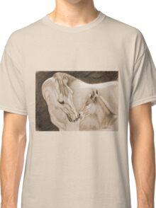"""A Momma's Love"" Sepia Classic T-Shirt"