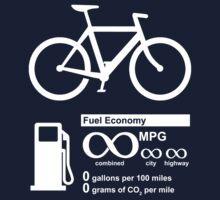 Bicycle Infinity MPG Fuel Economy Kids Clothes