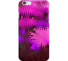 Waves in Pink iPhone Case/Skin