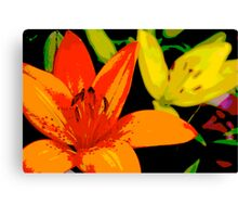 Tiger Lily  Canvas Print