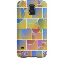 Colorful tiled puzzle Samsung Galaxy Case/Skin