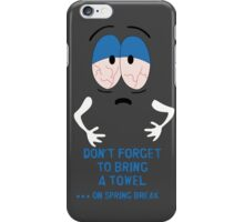 New Towelie Hand Towel iPhone Case/Skin