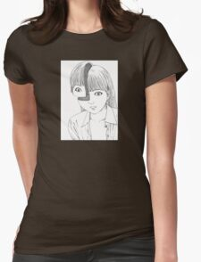 Shintaro – Where is My Mind? (Variant) Womens Fitted T-Shirt