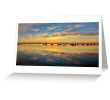 Panoramic Sunrise Greeting Card