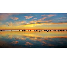 Panoramic Sunrise Photographic Print