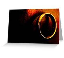 One Ring. Greeting Card