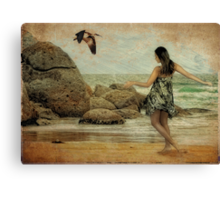 Island Girl Canvas Print