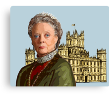 Lady Violet Crawley, Dowager Countess - Downton Abbey Canvas Print