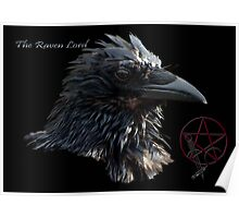 """""""The Raven Lord"""" Poster"""