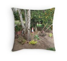 Good old days -- Ancient times !!! Throw Pillow