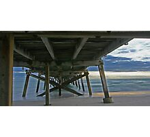 Under Semaphore Jetty Photographic Print