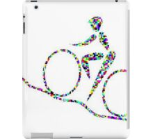 Cycling is a sport of the open road. iPad Case/Skin
