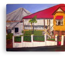 Old Queenslander Highgate Hill Brisbane  Canvas Print